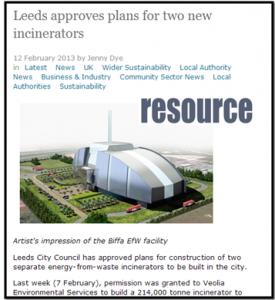 הקמת שני מפעלים להפקת אנרגיה בלידס - אריאל מליק